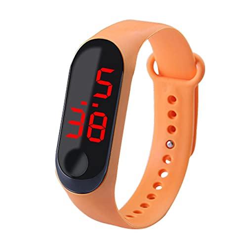 #NA Pulsera Reloj Banda Reloj Digital Relojes LED Rojos Promoción Regalo Movimiento Reloj Reloj de Pulsera Horas Deportivas