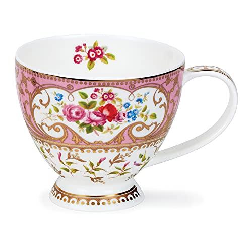 Dunoon Skye Rosanne - Taza (0,45 L), color rosa