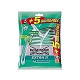 Wilkinson Maquina Desechables, Sensitive - 6 Paquetes de 1 Set