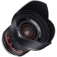 Rokinon 12mm F2.0 NCS CS Ultra Wide Angle Fixed Lens for Olympus and Panasonic Micro 4/3 (MFT) Mount Digital Cameras (Black)