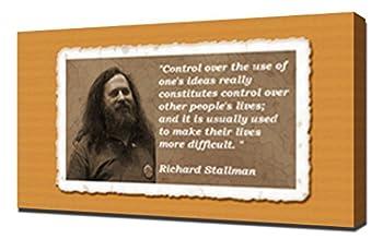 Richard Stallman Quotes 1 - Canvas Art Print