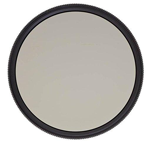 Heliopan 580381052 - Filtro polarizador (Circular, Slim, SH-PMC, 52 mm), Negro