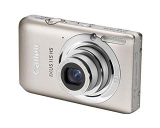Canon IXUS 115 HS Digitalkamera (12 MP, 4-fach opt. Zoom, 7,6cm (3 Zoll) Display, Full HD, bildstabilisiert) silber (B004MKNBLE) | Amazon price tracker / tracking, Amazon price history charts, Amazon price watches, Amazon price drop alerts