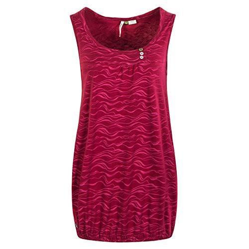 Ragwear Wmn Top Giselle Organic Red Größe: S Farbe: Red