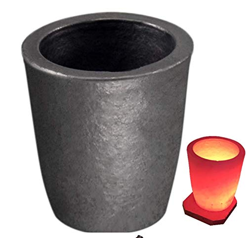 Beauty Life Crucible for Melting Metal,6# Clay Graphite Crucibles, Foundry Cup Melting Casting Refining, Graphite Crucibles for Copper Gold Silver Aluminum,Jewelry Casting Tool,6kgs, Factory Sale