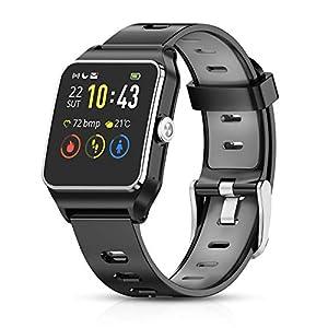 UKCOCO G5 Bluetooth Smart Watch LED de visualización de la ...