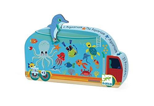 Djeco puzzel Het aquarium - 16 stukjes