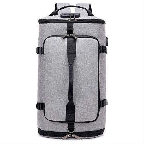 YDCX Herren Rucksack, Business Casual USB Laderucksack, Tragbare Großleistungsfähige Computertasche, Reise Schulter Schräge Tasche, 35 Liter