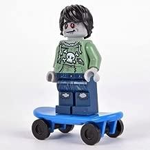 Lego Zombie Skate Boarder Minifigure