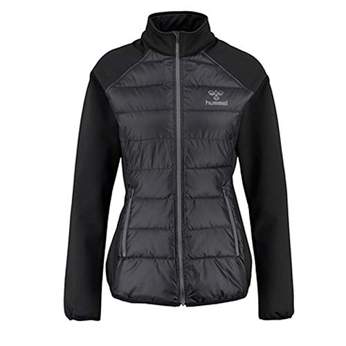 Hummel Damen Classic Bee Women's Zain Jacket Jacke, Black, XS