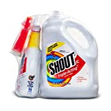 Shout Triple-Acting Laundry Stain Remover Spray Bottle for Everyday Stains 1 Gallon Refill + 32 Ounce Shout Trigger (1 Gallon Refill + 32 Ounce)