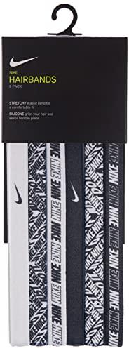 Nike Stampato assortiti 6Pk Donne Fascia per capelli OS