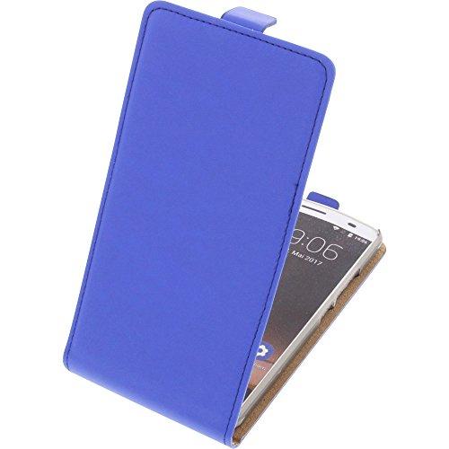 foto-kontor Tasche für Oukitel K6000 Plus Flipstyle Schutz Hülle Handytasche blau