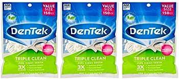 3-Pack DenTek Triple Clean Floss Picks