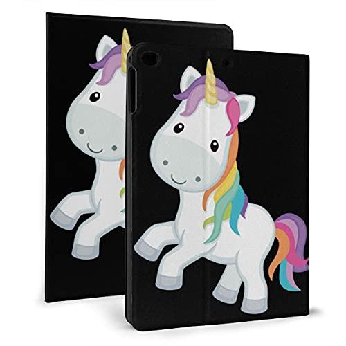 Unicornio Flip protector pu cuero cartera Tablets caso para IPad mini4/5 7.9 pulgadas, soporte giratorio inteligente magnético auto despertador/sueño cubierta casos