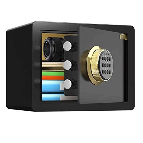 pojhf GYDSSH El Sistema de reconocimiento biométrico de Huellas Dactilares de Seguridad Caja de Seguridad Cajas Fuertes for el hogar, Hotel, Oficina