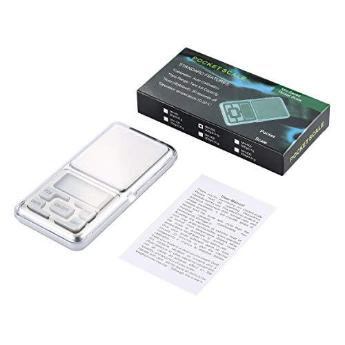 200 g / 0,01 g Mini-Taschenformat Digitalanzeige Pocket Gem Weigh Scale Waagenwaage Elektronische LCD-Anzeigeskala #Pennytupu