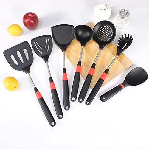 HJUYV-ERT Silicone kitchenware Set Silicone Cooking Non-Stick pan Multi-Function Kitchen Supplies high Temperature