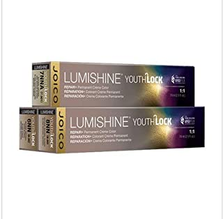 Joico Lumishine YouthLock Repair+Permanent Creme Hair Color - 5NN Natural Natural Light Brown