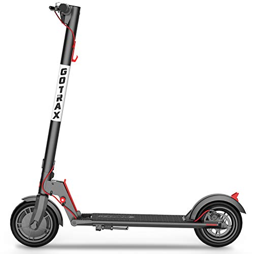 "Gotrax gxl v2 commuting electric scooter - 8. 5"" air filled tires - 15. 5mph & 9-12 mile range - version 2 (black)"