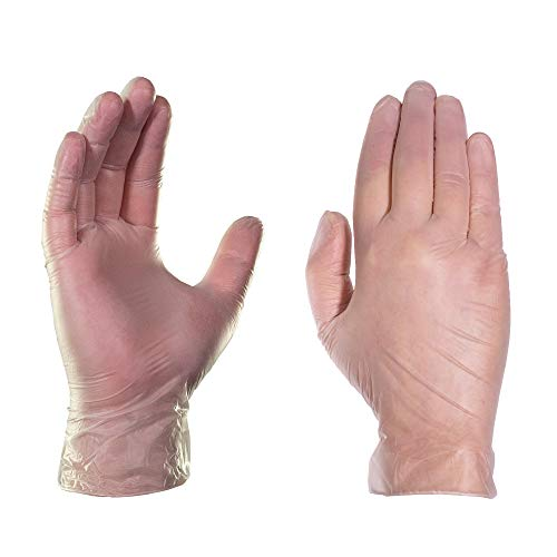 GlovePlus-Industrial-Clear-Vinyl-Gloves-Box-of-100-4-mil-Size-Medium-Latex-Free-Powder-Free-Food-Safe-Disposable-Non-Sterile-IVPF44100-BX
