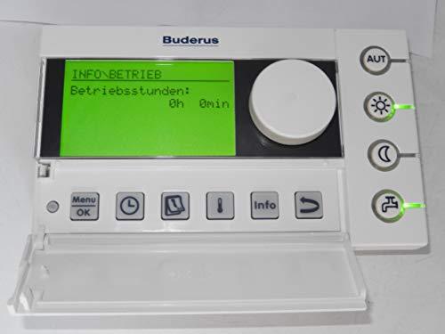 BUDERUS RC35*EMS Raumcontroller, geprüft, voll funktionsfähig, Zustand NEUWERTIG