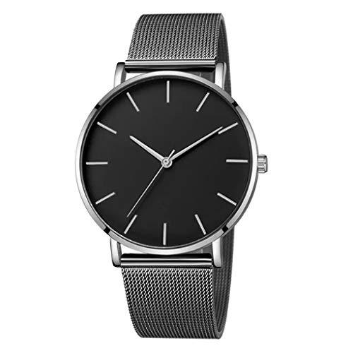 Armbanduhren männer Herrenuhr Herren Quarzuhr Edelstahl Zifferblatt Casual Bracele UhrArmbanduhr Uhren armbanduh D 11171