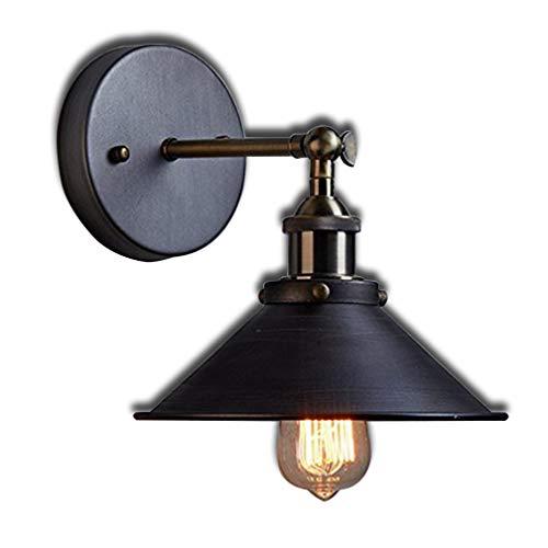 Applique Murale Antique Industrielle Edison Design Nostalgie Romantique pour E27 Lampe Ampoule Applique Lampes Intérieur Décoratif Éclairage Direct pour Lampe de Chevet Couloir Lampe Balcon Bar
