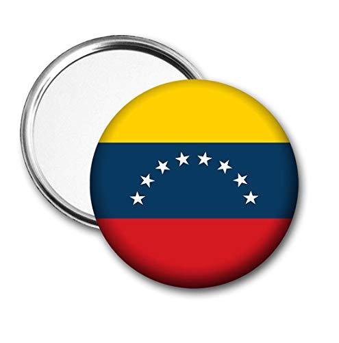 Venezuela Vlag Pocket Spiegel voor Handtas - Handtas - Cadeau - Verjaardag - Kerstmis - Stocking Filler - Secret Santa