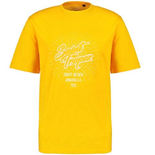 hajo Herren T-Shirt mit Saint Tropez-Print orange_352 3XL