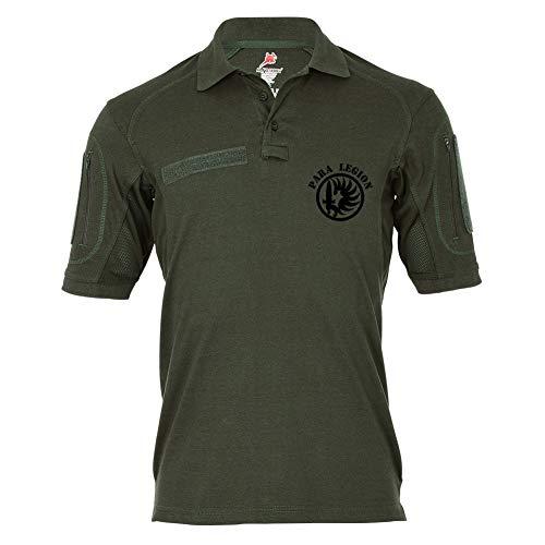 Copytec Copytec Tactical Poloshirt Alfa - para Legion Fremdenlegion Etrangere #19337, Größe:XL, Farbe:Oliv