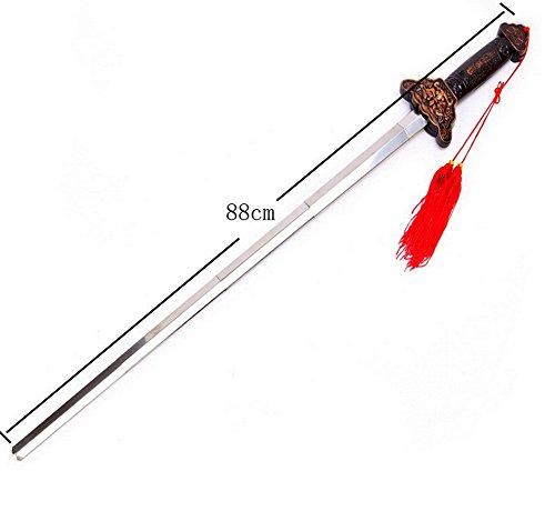 MAYMII Chinese Tai Chi Sword Kung Fu Martial Arts Retractable Magic Sword