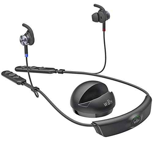BeHear Access by Wear & Hear – Advanced Personal Hearing Amplifier, Bluetooth Headset, with Smartphone Control App – Includes Telecoil Receivers, for mild to Moderate Hearing Loss