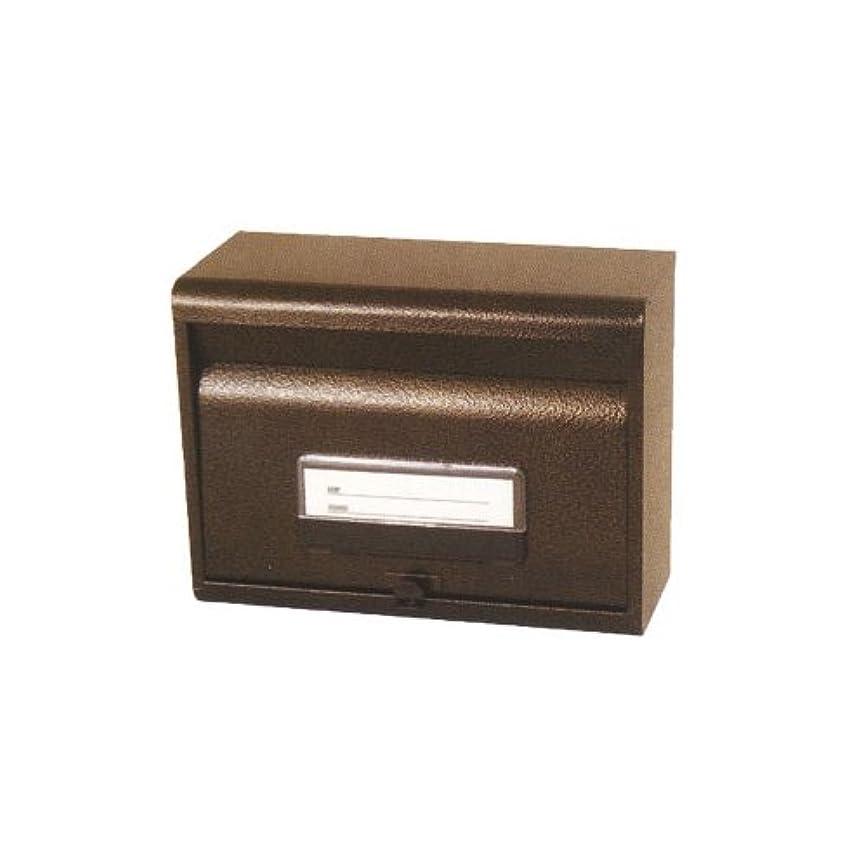 二層ひらめきゴミ箱ケイジーワイ工業 KGY サントミ 郵政型ポスト SGE-80 エンボスブラウン