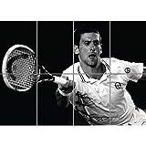 NOVAK DJOKOVIC TENNIS SPORT STAR GIANT ART PRINT PICTURE