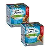 Purina DentaLife Cane Snack per l'Igiene Orale, per Cani di Taglia Grande, 2 Confezioni da 36 Sticks Ciascuna, per Un Totale di 72 Sticks - Formato Scorta