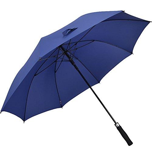 Generic Übergroße Regenschirm, Herren, blau