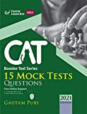 CAT 2021 : Booster Test Series - 15 Mock Tests