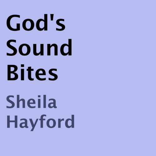 God's Sound Bites audiobook cover art