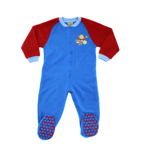 Bob der Baumeister Fleecy All in One Sleepsuit 3-4 Jahre