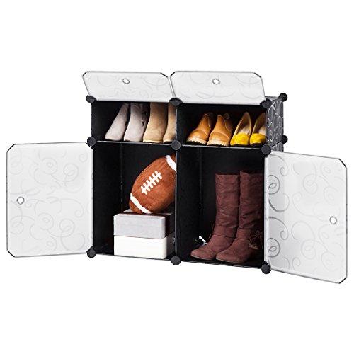 LANGRIA Cube Storage Shelves DIY Modular Closet Organizer...