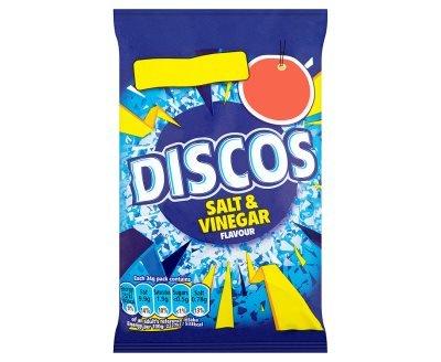 Discos Salt & Vinegar Flavour (34g x 30)