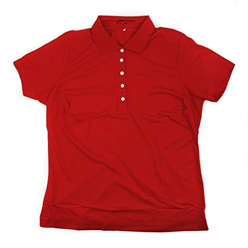 Nike Ladies Golf Shirt - Red - Extra Small