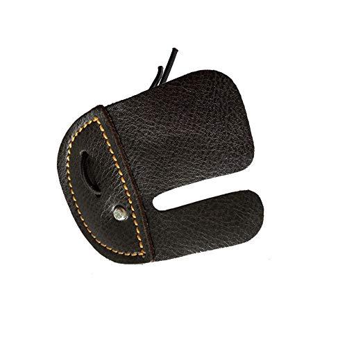 Eachbid Protezione da Tiro con L'Arco per Dito Guard per Dita in Pelle Accessori Protettivi con 3 Dita per Arco Ricurvo