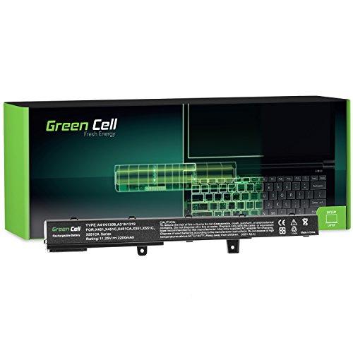 Green Cell Laptop Akku Asus A31N1319 A31LJ91 für Asus X551 X551C X551CA X551M X551MA X551MAV R512 R512C D550 D550C F551C F551CA F551M F751L R508CA R509 R512CA X451 X451CA X451MAV X751L (11.25V)