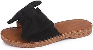 Zapatillas de playa del fondo plano confort de mujeres