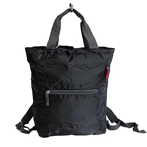Zaino pieghevole Bag Street – Zaino da viaggio, zaino da trekking, borsa o zaino, molto leggero e pieghevole (colore a scelta) – presentato da ZMOKA