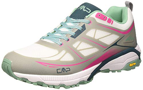 CMP - F.lli Campagnolo Hapsu WMN Nordic Walking Shoe, Chaussures de Marche Nordique Femme, Violet (Glacier-Bounganville 60ue), 42 EU