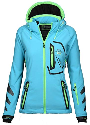 Geographical Norway - Chaqueta deportiva para mujer (softshell)