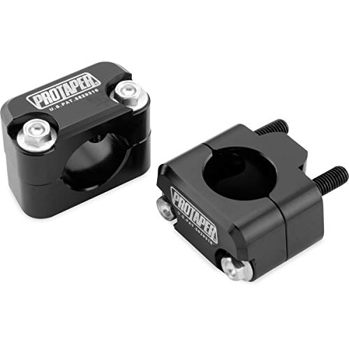 Pro Taper Universal Solid Handlebar Mount Kit - Black